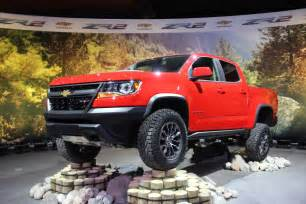 chevy colorado zr2 is prepped for dirt rocks and sand