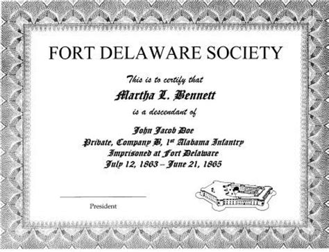 Unrestricted Gift Letter Fort Delaware Society Home Page