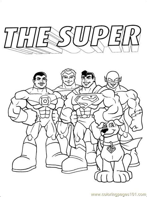 Peter Alber Lozado Colouring Pages Dc Comics Coloring Pages