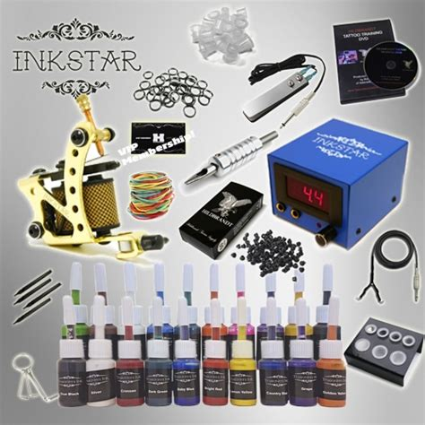 tattoo starter kits cheap kit inkstar venture c kit with truecolor 20 ink set