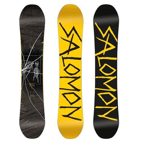 tavole snowboard salomon salomon craft snowboard 2017 evo