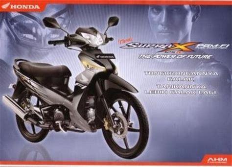 Covermotor Sarung Motor New Supra X 125 Cw Sporty Mmc modifikasi motor honda supra x 125 pgm fi injeksi top non carburator gambar foto modifikasi