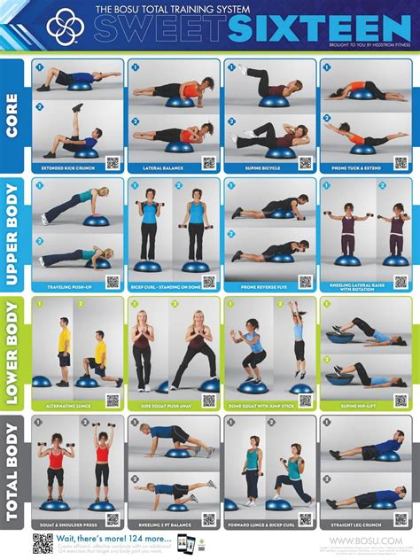 7 Great Bosu Exercises by Bosu On Bosu Workout Workout And Bosu