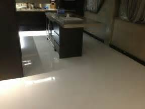 when concrete floors are repainted with an epoxy finishing