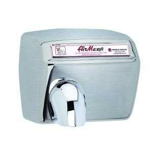 Hair Dryer Repair Chicago dxm54 973 airmax dryer by world dryer automatic brushed stainless steel surface mounted