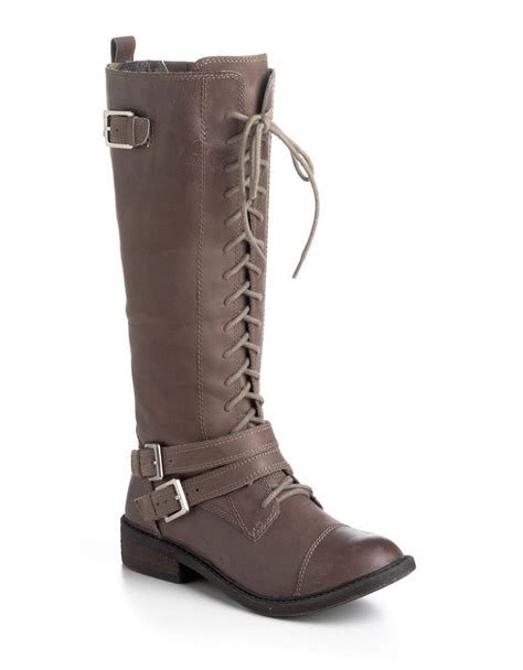 lucky brand mens boots lucky brand neel leather lace up boots in brown lyst