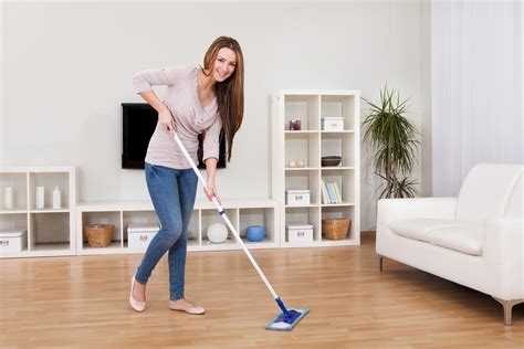 cleaning the house dealing with the chores in your home