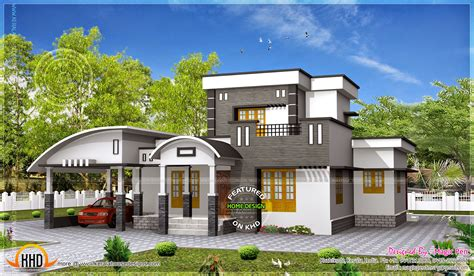 modern home design single floor 2017 of floor cabin house splendid modern houses by kerala house inspirations with