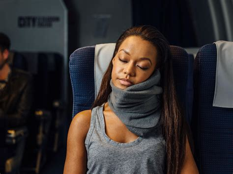 comfort on long flights 10 best travel pillows the independent