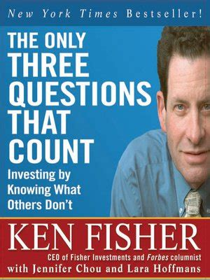 lore of nutrition challenging conventional dietary beliefs books the only three questions that count by ken fisher