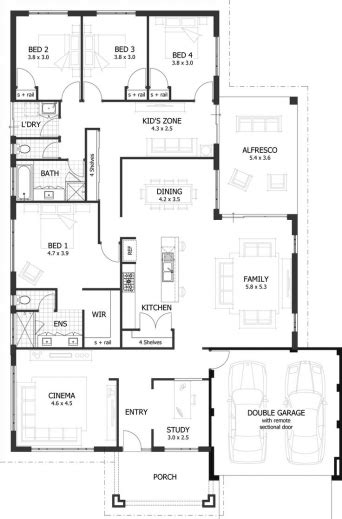 Www House Plans Hd 4 Bed Room Photo Com House Floor Plans House Plan Images Hd