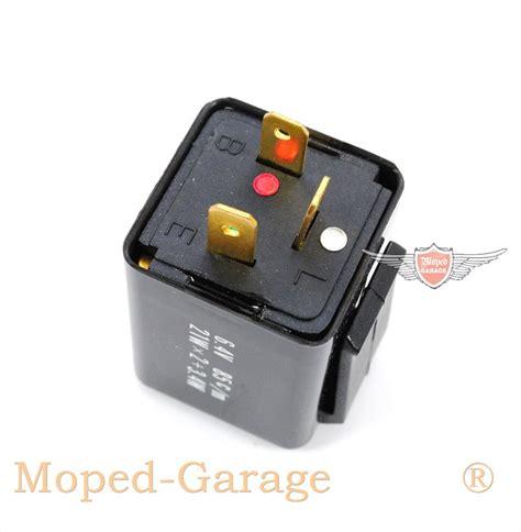 Motorrad Blinker 21 Watt by Moped Garage Net Moped Mokick Blinker Relais Uni 6 Volt