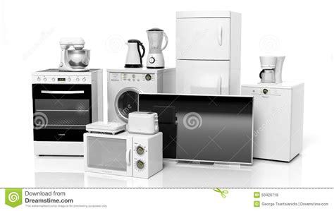 dishwasher home group of home appliances stock illustration image of