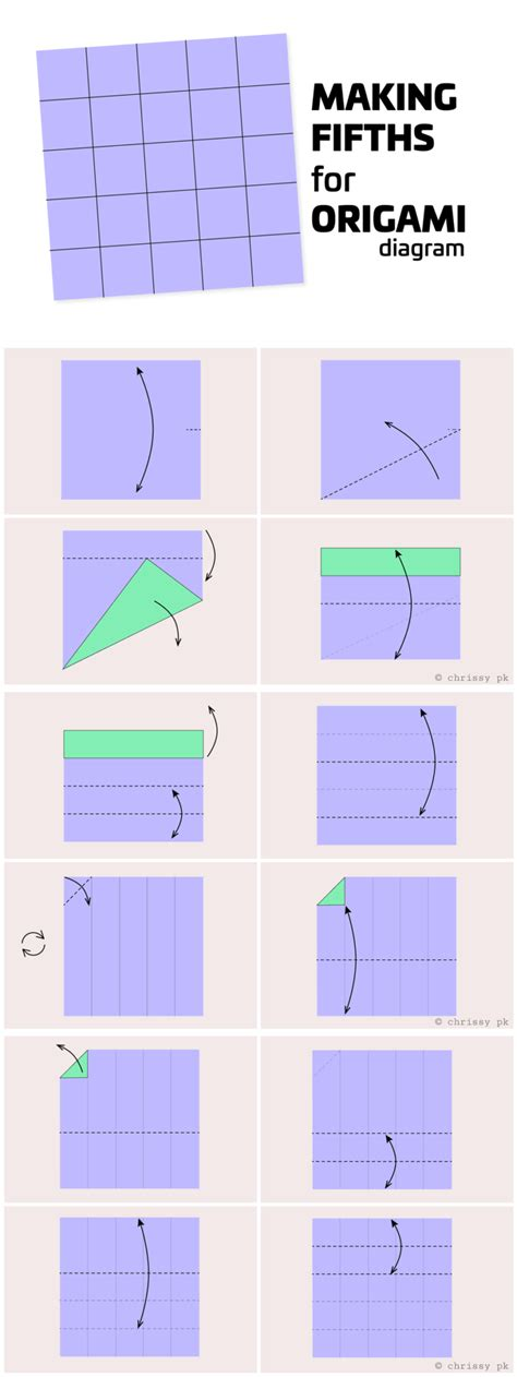 How To Fold A Paper Into A - origami diagrams paper kawaii