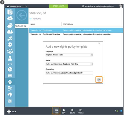 What Admins And Users See With Azure Rms Aip Microsoft Docs Information Portal Template