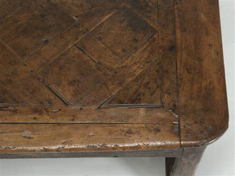 Antique French Farm Table with Drawer, circa 1700 now in