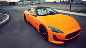 Matte Orange Maserati Orange Maserati Gallery