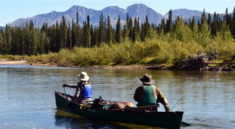 yukon canoes liard river canoe trip yukon catch bull trout view