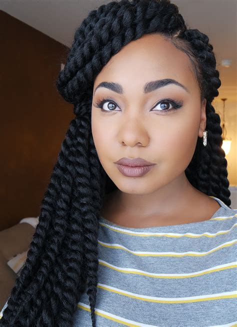 crochet braids using pre twist hair how to easy braid pattern for natural versatile crochet