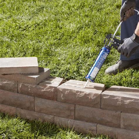 How To Build A Garden Wall by How To Build A Retaining Wall