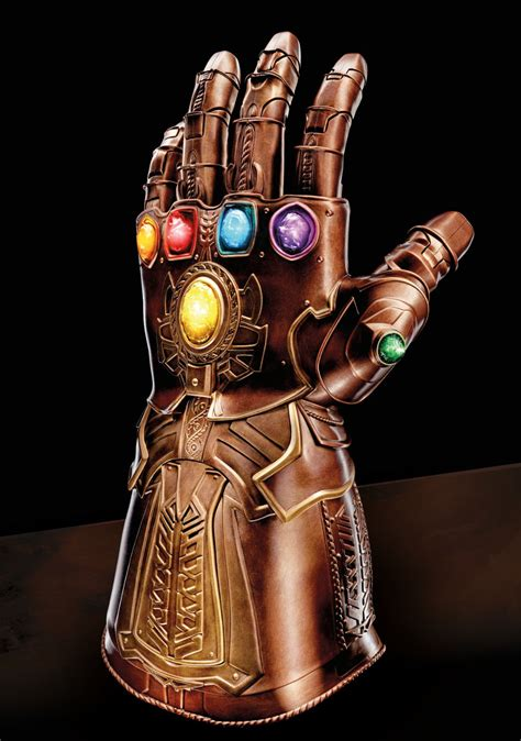 the gauntlet series 1 hasbro reveals a wearable infinity gauntlet from marvel