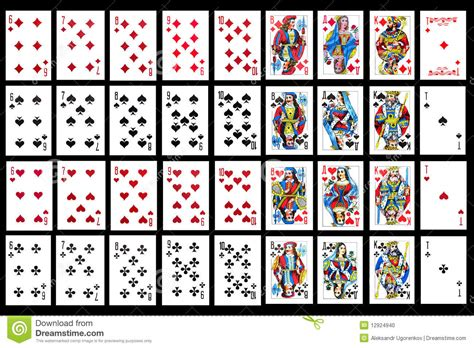 card set set of card up stock photo image 12924940