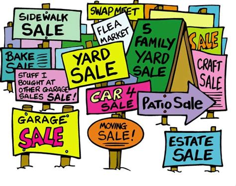 Where To Advertise Garage Sales by How To Advertise Your Garage Sale Tag Sale Moving Sale