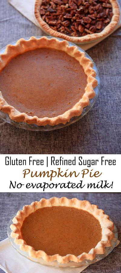 fashioned pumpkin pie refined sugar free no