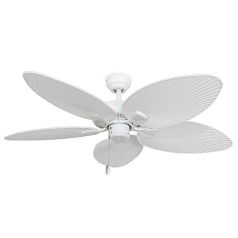 hton bay 52 inch ceiling fan 52 inch cabo bay outdoor white ceiling fan bed bath beyond
