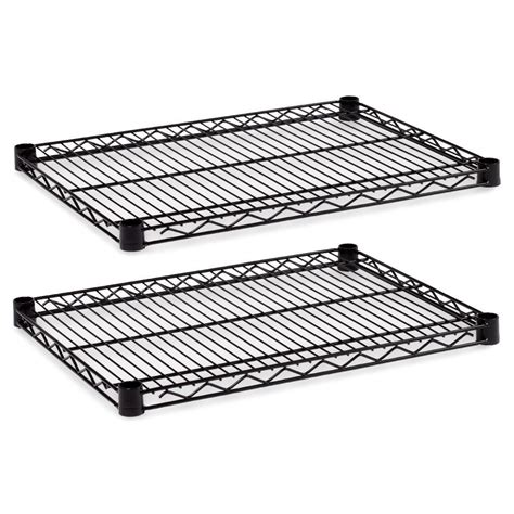 alera industrial wire shelves alesw582418bl ebay