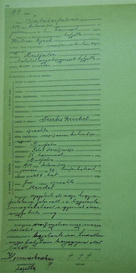 Austria Birth Records Lara S Jewnealogy Delayed Austro Hungarian Marriages