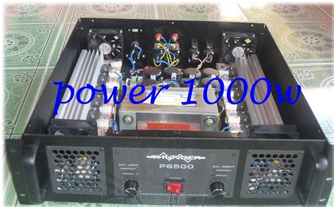 Power Lifier Untuk Lapangan sound system lapangan power li turbo