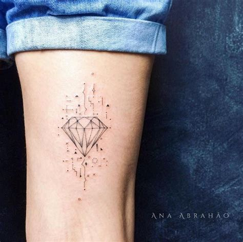 small diamond tattoos best 25 tattoos ideas on black