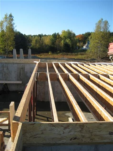 how to frame a floor how to frame floors with tji floor joists
