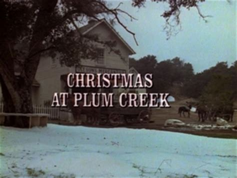 little house on the prairie christmas episodes episode 116 christmas at plum creek little house on the prairie wiki fandom