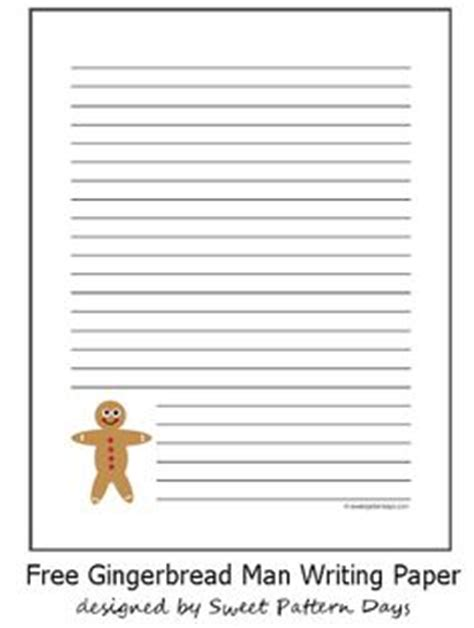 printable gingerbread man writing paper gingerbread unit on pinterest 25 pins