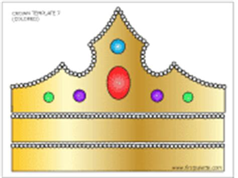 How To Make A Princess Tiara Out Of Paper - prince and princess crown printable templates coloring
