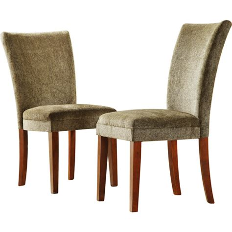 set of 2 parson dining chairs olive furniture walmart