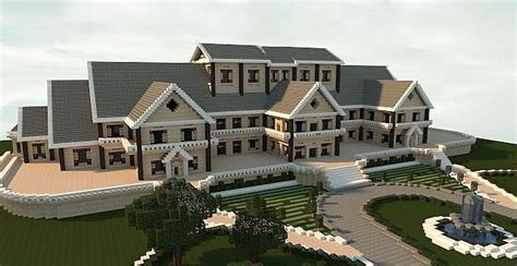 design a mansion luxury mansion minecraft house design