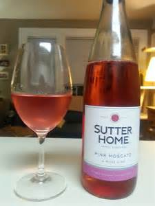 sutter home pink moscato bottle babble modest monday wines 10 sutter