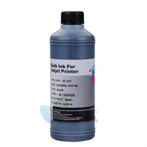 Ink Refill Printer black refill ink 500ml for all inkjet printers for hp
