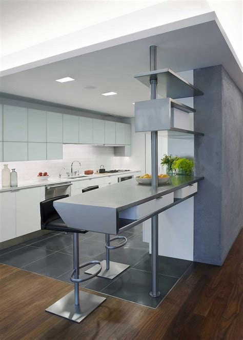 cocinas modernas  barra  disenos  se ven