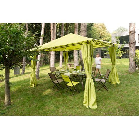 tonnelle de jardin avec rideaux 4 rideaux pour tonnelle prado tonnelle parasol tonnelle store voile jardin exterieur