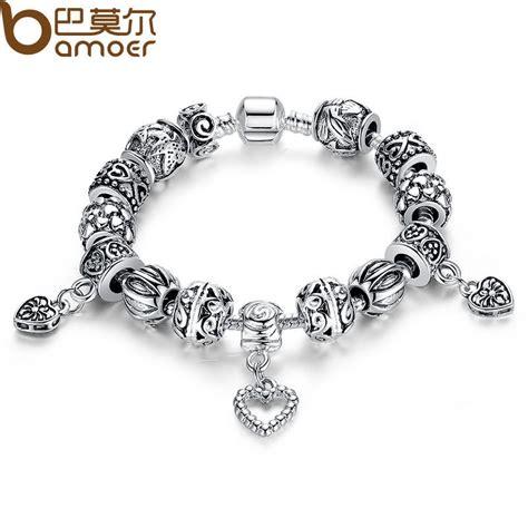 antique charm bracelets for antique silver charm bracelet bangle silver 925 with