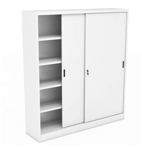 armadio metallico ante scorrevoli armadio metallico ante scorrevoli 180x45x200 forniture