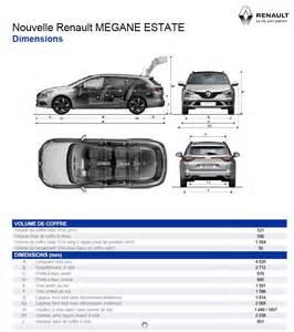Renault Megane Estate Dimensions Renault M 233 Gane Estate 2016 Arrive