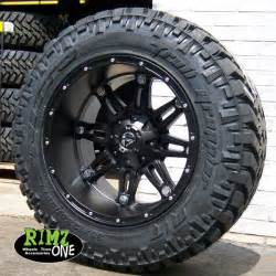 Nitto Tires Trail Grappler On Chevy 20x12 Fuel Hostage D531 Wheels Black W Nitto Trail