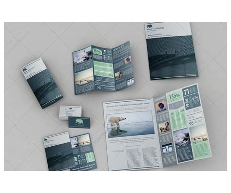 Brochure And Business Card Template by Print Layout Brochures Bundle Bifold Brochure Trifold