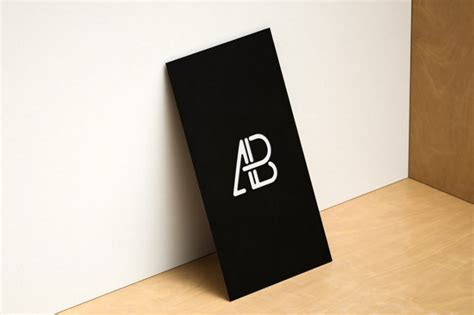 card template 3 vertical 2 horizontal free modern horizontal and vertical business card mockup