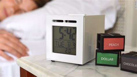 alarm clock that wakes you up with light this alarm clock wakes you up with the smell of